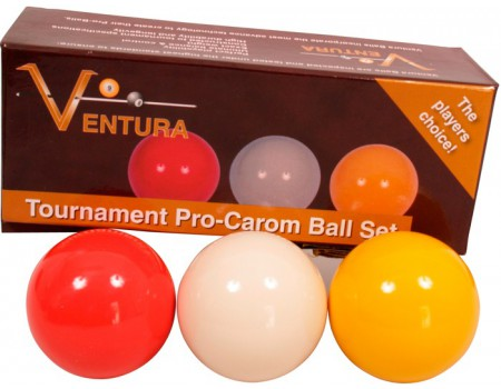 Ventura Tournament A1 Caramboleballen set 61.5mm