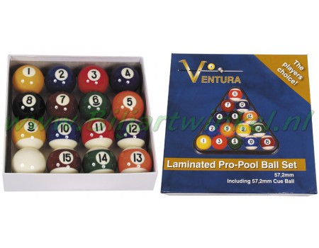 Poolballenset Ventura Eco laminated
