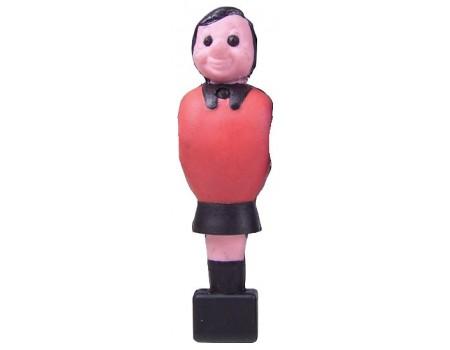 Voetbalpop Garlando rood voor 16 mm stang
