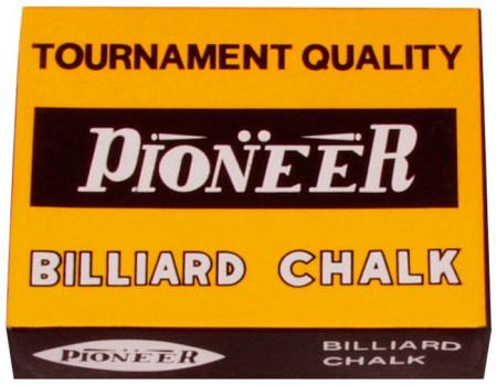 Pioneer biljart krijt blauw (12st.)