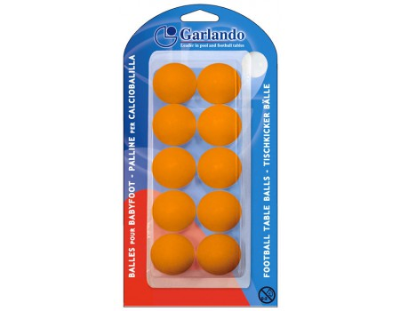 Voetballetjes Garlando Oranje blister 10
