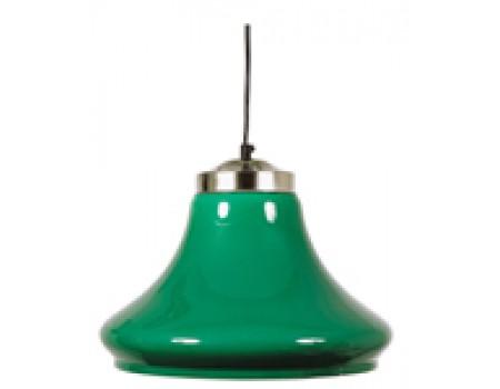 Biljart Lamp transparant Groen