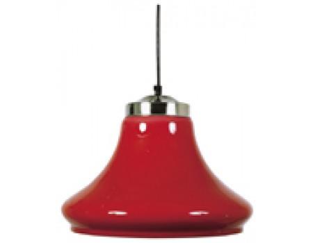 Biljart Lamp transparant Rood