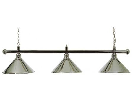 Biljart Lamp Set Chroom 37 cm