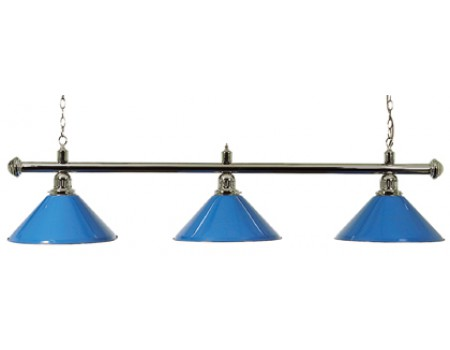 Biljart Lamp Set Blauw