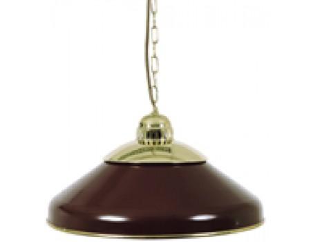 Biljart Lamp Solo brass Rood 45 cm