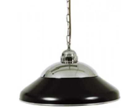 Biljart Lamp Solo Zwart/chroom 45 cm