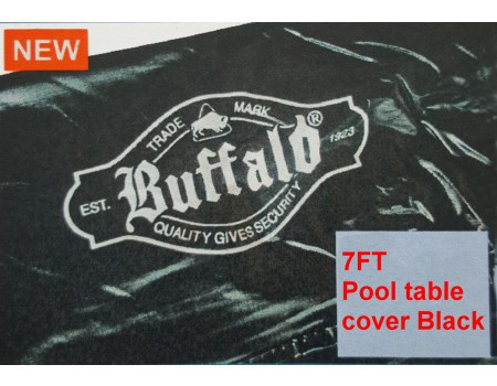 7FT Pool table cover black
