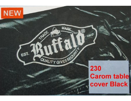 230 Carom table cover black