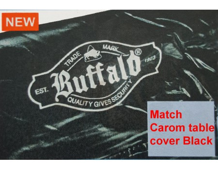 Match Carom table cover black