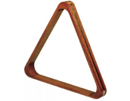 Triangle Dark Maple 57,2 mm met goudkleurige bies