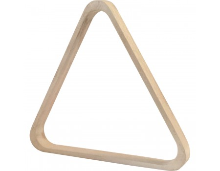 Buffalo wooden triangle pool white 57,2 mm