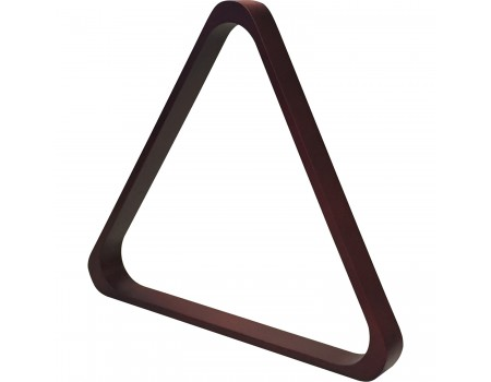 Mahogany look De Luxe Triangle 57.2mm