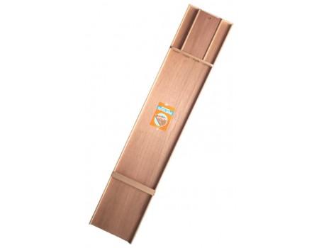 Sjoelbak Abura met Meranti hout 200x40 cm