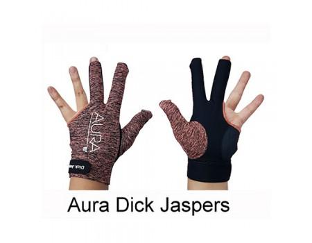 Dick Jaspers Aura Professional handschoen Oranje-Zwart