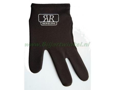 handschoen Renzline kleur zwart zonder klitteband