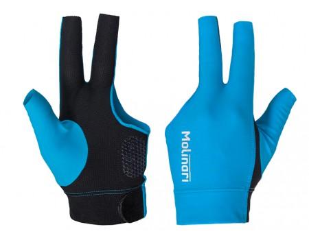 Molinari handschoen Cyaan