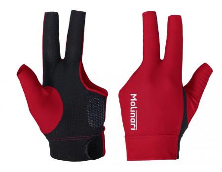 Molinari handschoen Rood