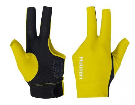 Molinari handschoen Yellow