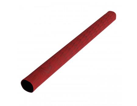 IBS Super Cue Grip velvet 30 cm rood