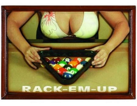 3D Pub Sign Rack-em-Up - Margeprijs