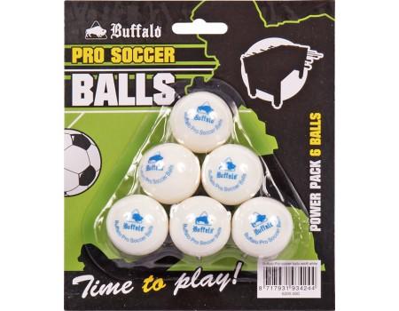 Buffalo Pro Soccer Balls Wit blister 6