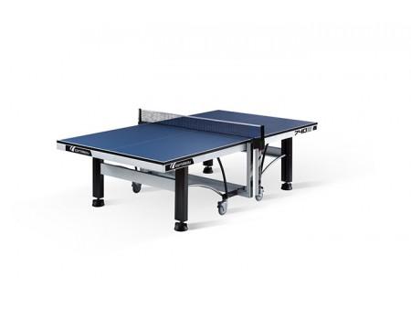 Tafeltennistafel Cornilleau Competition 740 ITTF indoor blauw