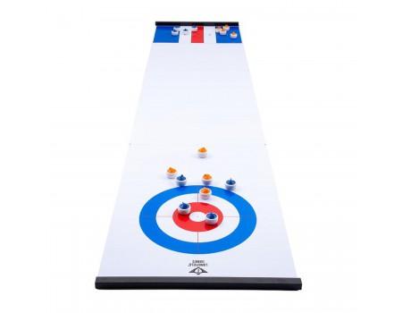 Longfield Curling en sjoelen bord set