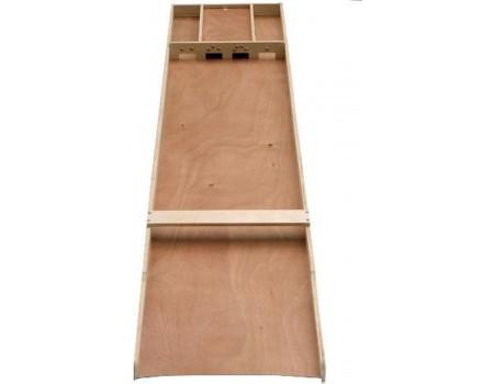 Longfield Games Sjoelbak Wedstrijd hout 200x40 cm
