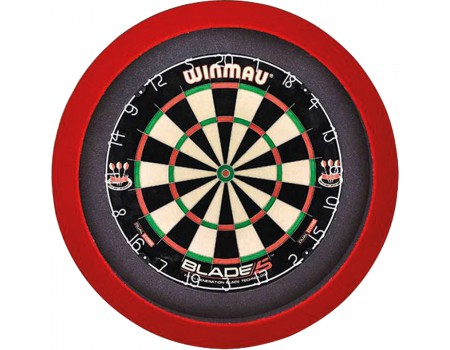 GrandSlam dartboard led-lighting black