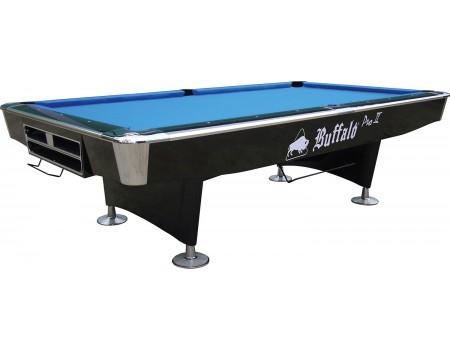 Pooltafel Buffalo Pro-II 9ft zwart (drop pocket)