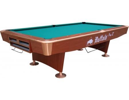 Pooltafel Buffalo Pro-II 9ft bruin (drop pocket)