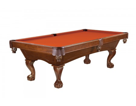 Brunswick Allenton pool table 8ft chestnut ball and claw