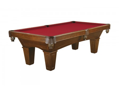 Brunswick Allenton pool table 8ft chestnut tapered leg