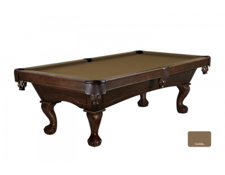 Brunswick Allenton pool table 8ft espresso ball and claw legs