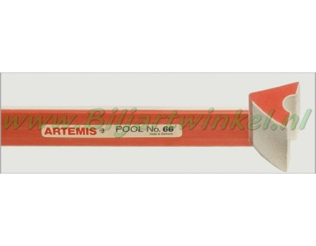 Bandrubber pool Artemis no.66 voor 9FT Pool