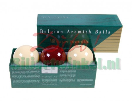 Super Aramith Traditional Dark Red 61,5mm