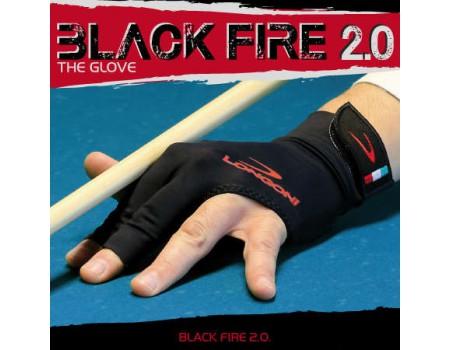 Longoni Black Fire 2.0 biljarthandschoen