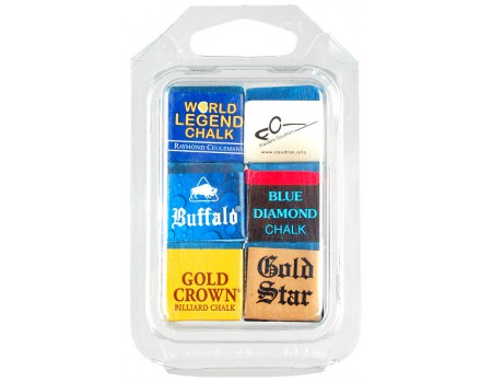 Biljartkrijt Professional 6 pack