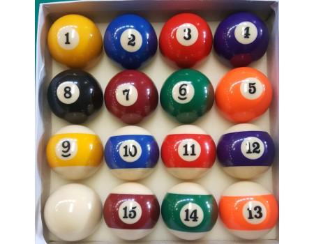 Poolballen 57,2 mm economy