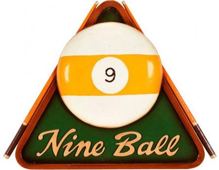 3D Nine Ball biljartschilderij - Margeprijs