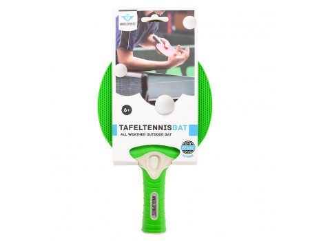 Tafeltennis outdoor bat groen