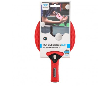 Tafeltennis outdoor bat rood