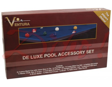 VENTURA DE LUXE POOL ACCESSORY SET