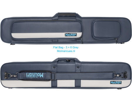 Molinari Flat Bag - 3 + 6 Navy