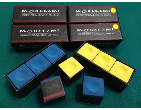 Morakami performance chalk BOX van 3 - BLAUW - by Balabushka USA