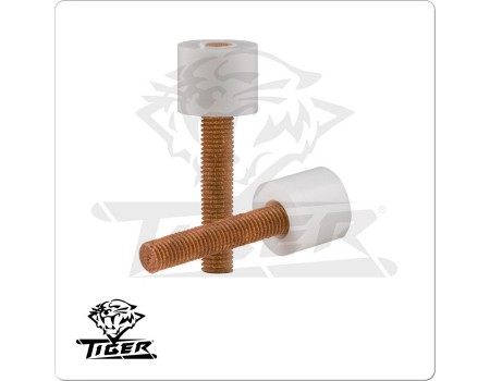 Tiger ferrule voor pool of carom keu