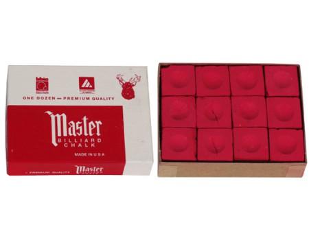 Master Krijt Rood 12 stuks