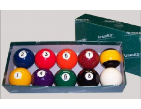 Poolballen Aramith Nine Ball Set 57,2 mm