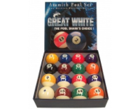 Poolballen Aramith Shark 57,2 mm